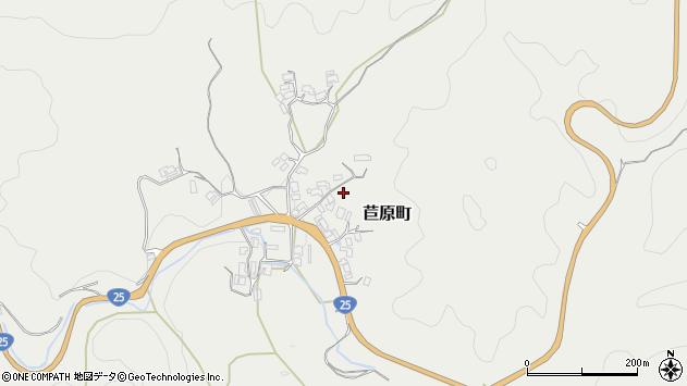 〒632-0022 奈良県天理市苣原町の地図