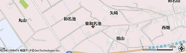 愛知県田原市堀切町(東和名池)周辺の地図