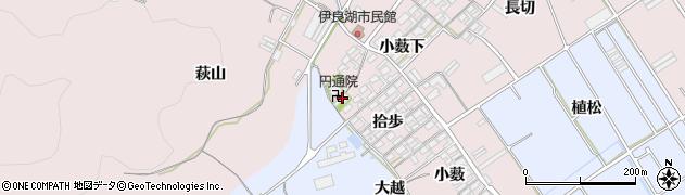 愛知県田原市伊良湖町(拾歩)周辺の地図