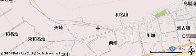 愛知県田原市堀切町(矢崎)周辺の地図