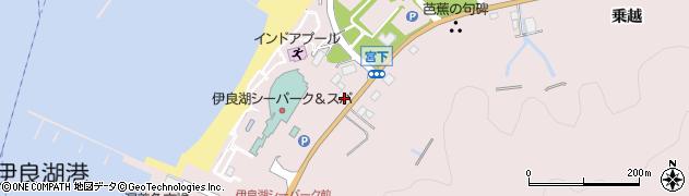 愛知県田原市伊良湖町(宮下)周辺の地図