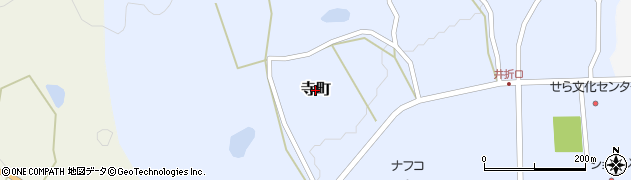 広島県世羅町(世羅郡)寺町周辺の地図