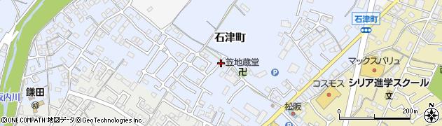 三重県松阪市石津町周辺の地図