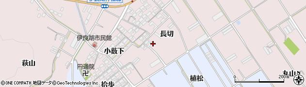 愛知県田原市伊良湖町周辺の地図