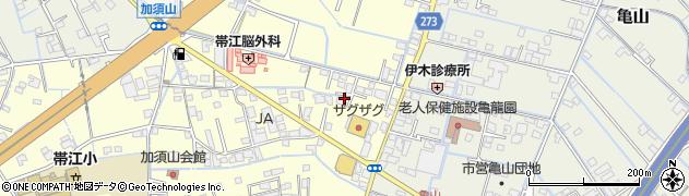 岡山県倉敷市加須山周辺の地図