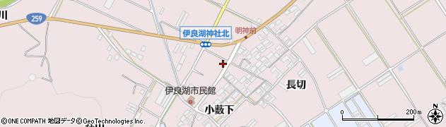 愛知県田原市伊良湖町(渡川)周辺の地図