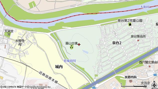 〒636-0091 奈良県北葛城郡河合町泉台の地図