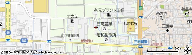 大阪府松原市三宅西周辺の地図