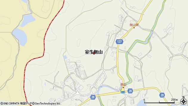 〒632-0207 奈良県宇陀市室生無山の地図