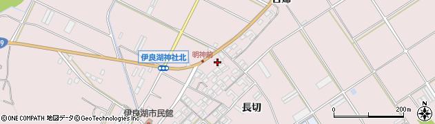 愛知県田原市伊良湖町(古婦下)周辺の地図