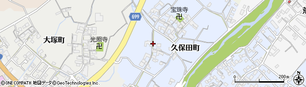 三重県松阪市久保田町周辺の地図