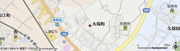 三重県松阪市大塚町周辺の地図