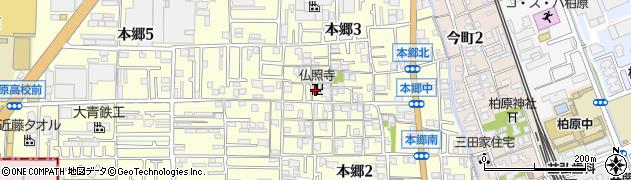 仏照寺周辺の地図