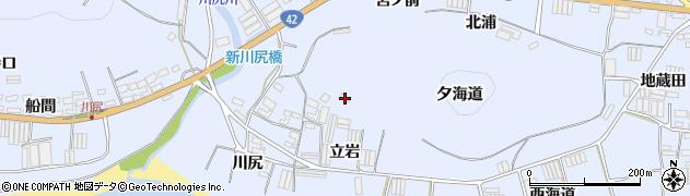 愛知県田原市和地町(立岩)周辺の地図