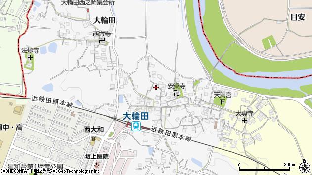 〒636-0093 奈良県北葛城郡河合町大輪田の地図
