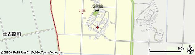三重県多気郡明和町川尻周辺の地図