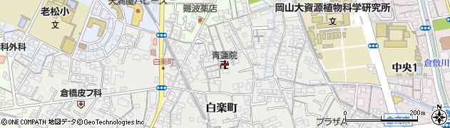 青蓮院周辺の地図