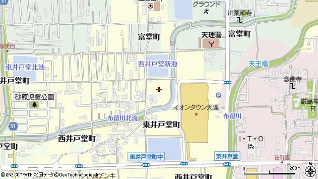 〒632-0074 奈良県天理市東井戸堂町の地図
