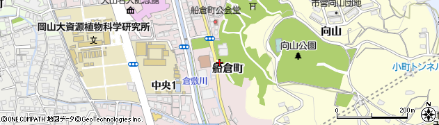 岡山県倉敷市船倉町周辺の地図