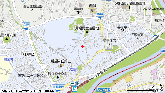 〒636-0822 奈良県生駒郡三郷町立野南の地図