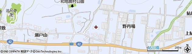 愛知県田原市和地町(野丹場)周辺の地図