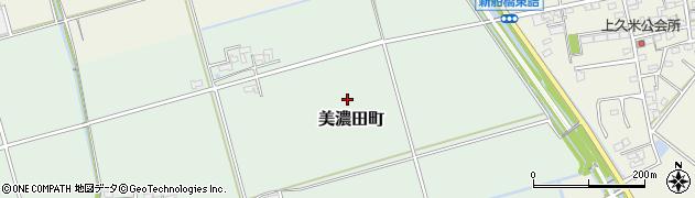 三重県松阪市美濃田町周辺の地図