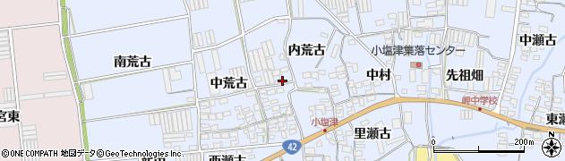 愛知県田原市小塩津町(出口)周辺の地図