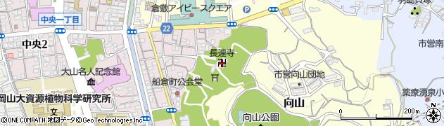 長連寺周辺の地図