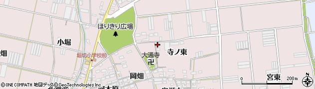 愛知県田原市堀切町(寺ノ東)周辺の地図