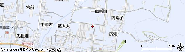 愛知県田原市和地町(一色新畑)周辺の地図