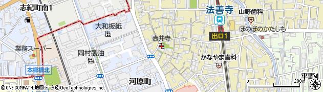 壷井寺周辺の地図