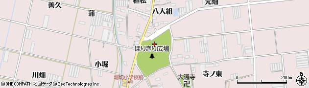 愛知県田原市堀切町(出口)周辺の地図