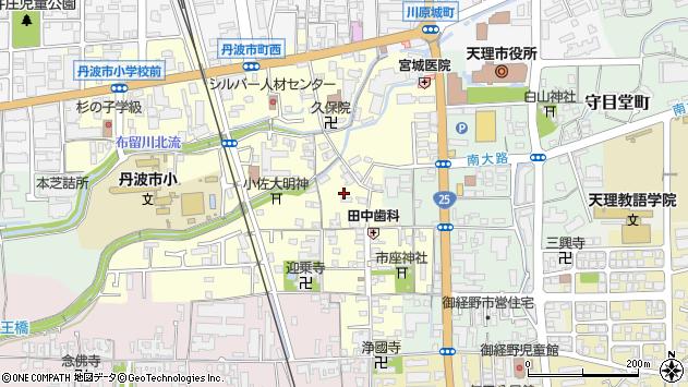 〒632-0034 奈良県天理市丹波市町の地図