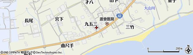 愛知県田原市越戸町(九五三)周辺の地図