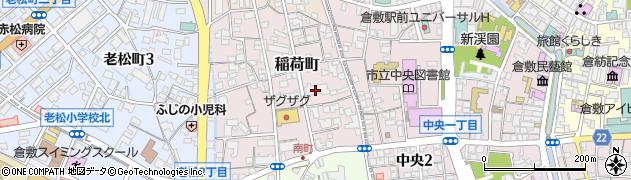 ポレスターブロードシティ倉敷周辺の地図