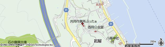 兵庫県淡路市岩屋周辺の地図