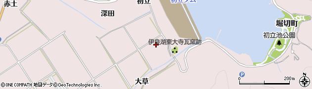 愛知県田原市伊良湖町(新瓦場)周辺の地図