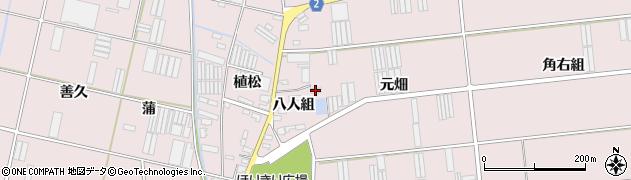 愛知県田原市堀切町(元畑)周辺の地図
