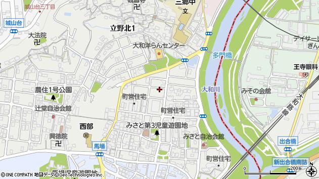 〒636-0821 奈良県生駒郡三郷町立野北の地図