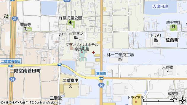 〒632-0081 奈良県天理市二階堂上ノ庄町の地図