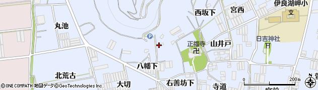 愛知県田原市小塩津町(右善坊構)周辺の地図