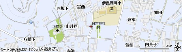 愛知県田原市小塩津町(宮西)周辺の地図