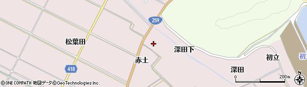 愛知県田原市伊良湖町(赤土)周辺の地図