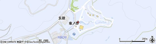 愛知県田原市和地町(東ノ谷)周辺の地図