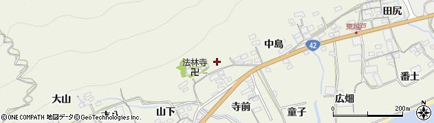 愛知県田原市越戸町周辺の地図