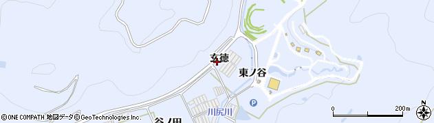 愛知県田原市和地町(玄徳)周辺の地図