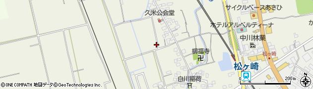三重県松阪市久米町周辺の地図