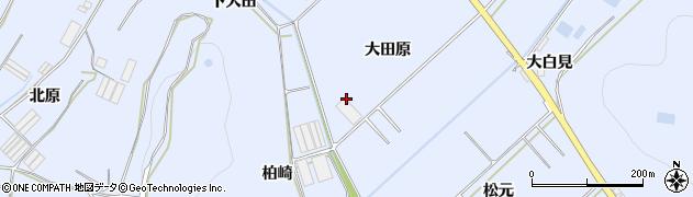 愛知県田原市和地町(大田原)周辺の地図