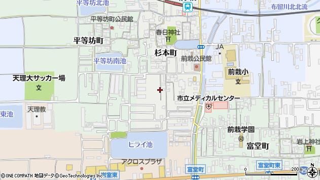 〒632-0078 奈良県天理市杉本町の地図