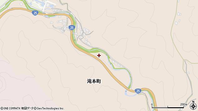 〒632-0021 奈良県天理市滝本町の地図